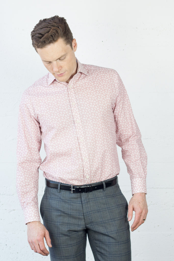 LFD Dress Shirt Pink Pineapple