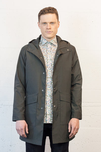 Falcon Raincoat Olive