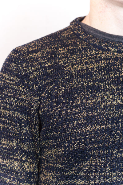 Navy Loose Knit Jumper