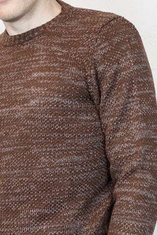 Rust Loose Knit Jumper