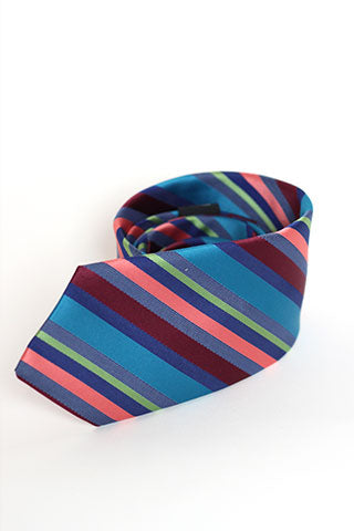 Bright Stripe Night Tie