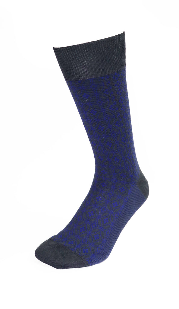 Socks Atex Navy + Charcoal