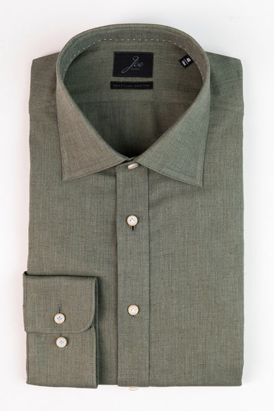JB Shirt Egyptian Cotton Olive