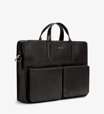 Soren Brief Case Black