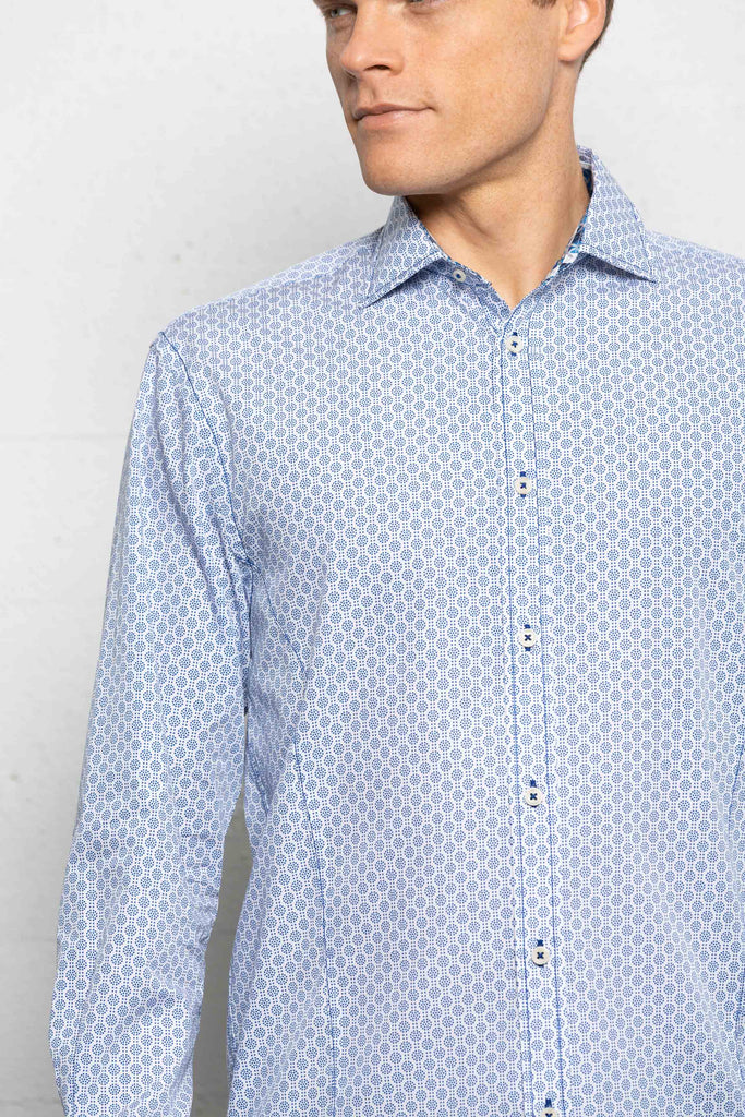 LFD Dress Shirt Dot Circles