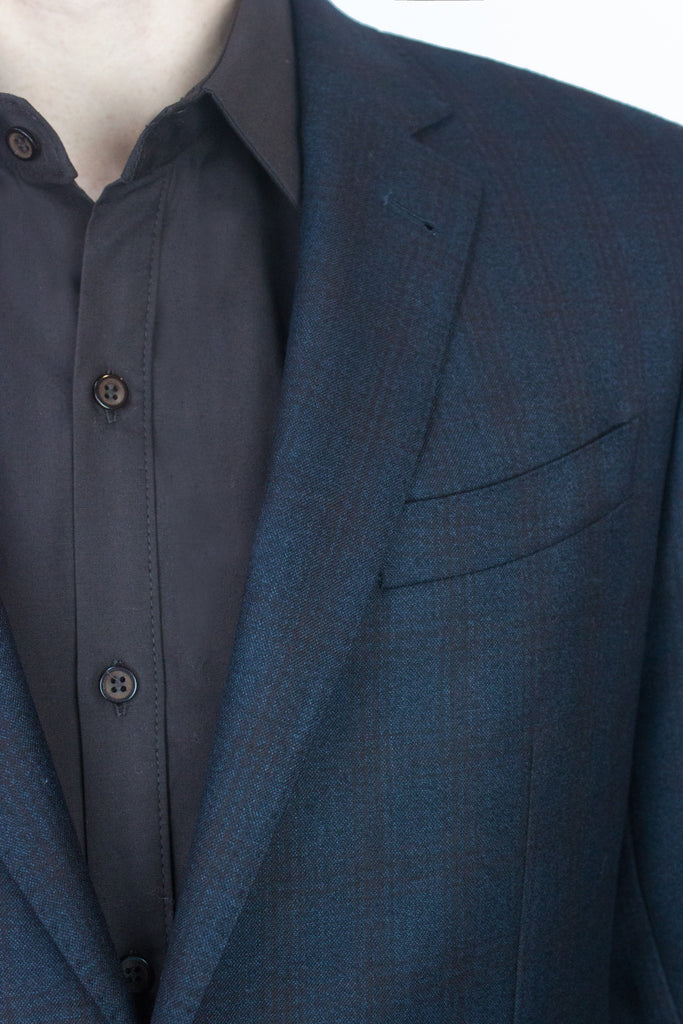 Mulberry Check Wool Blazer