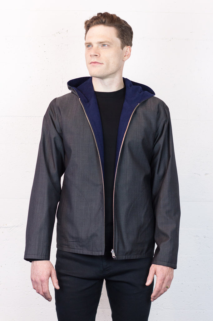 Reversible Jacket Cobalt/Slate
