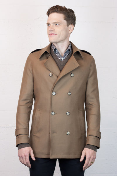Pea Coat DB Caramel