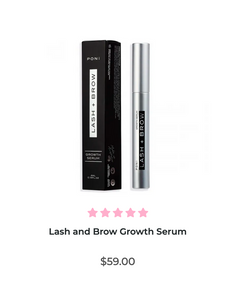 PONi lash and brow serum