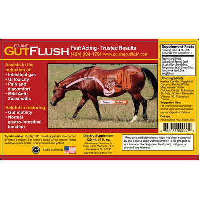 Equine Horse Gut Flush Relieves Colic - Horse Quencher