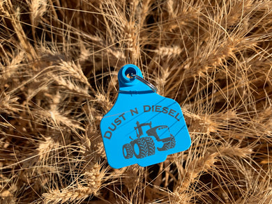 New Holland Blue Key-ring