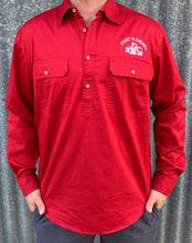 Load image into Gallery viewer, Mens Case Red Work Shirt