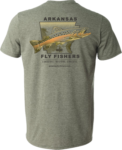 Arkansas Fly Fishers Short Sleeve T-Shirt (Large & XL only)