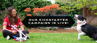 Kickstarter Campaign Launches for Open Source Robot Kit
