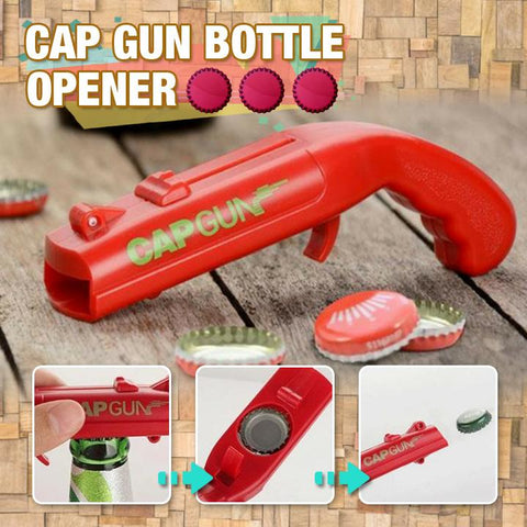 Creative Firing Cap Gun Bottle Opener