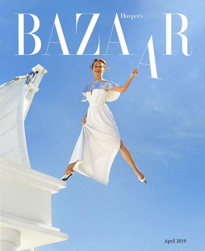 Phillip Gavriel gets HUGE splash in Harper's Bazaar April Issue | Phillip Gavriel