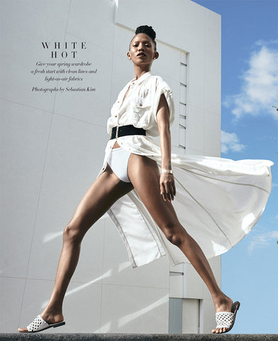 Phillip Gavriel in Harper's Bazaar White Hot