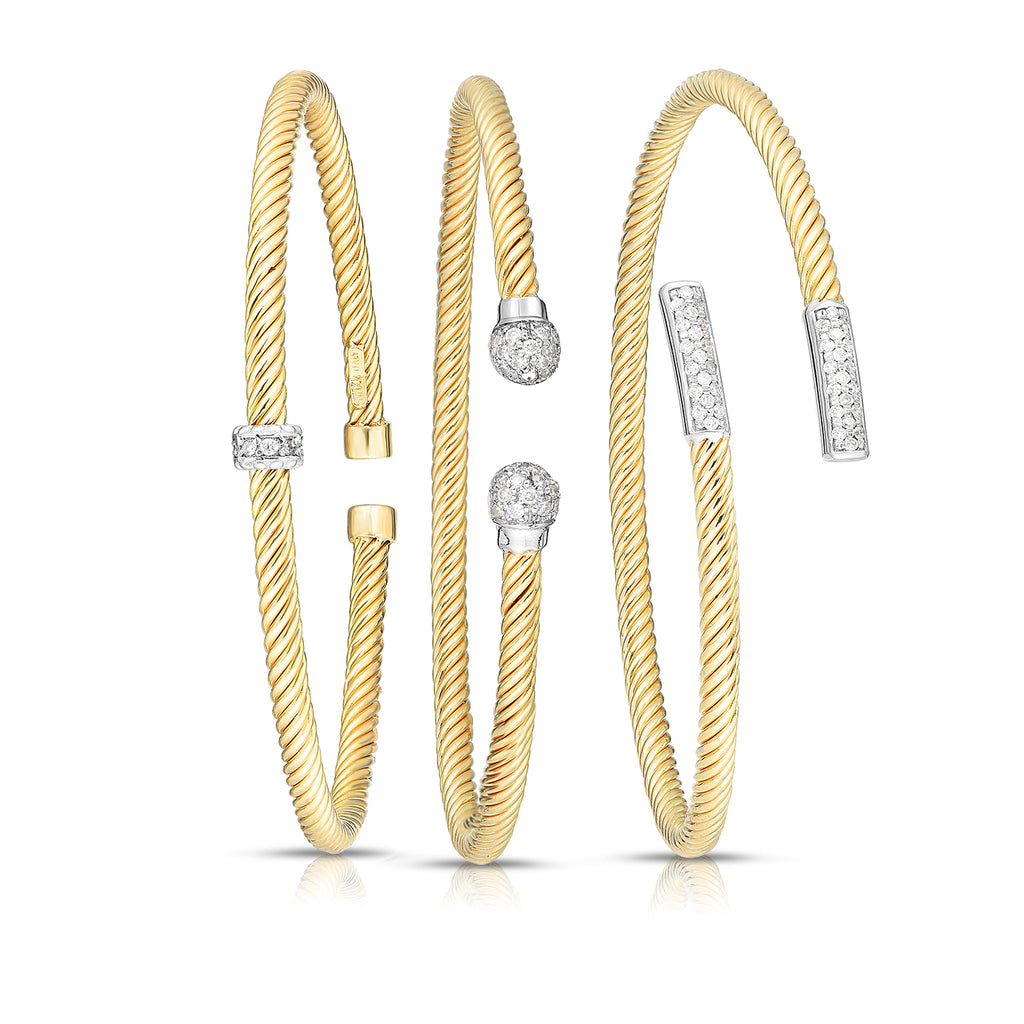 Phillip gavriel - new arrivals - gold bangles