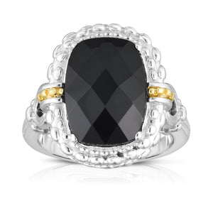 Sterling Silver & 18K Gold Gemstone Cocktail Ring - Phillip Gavriel