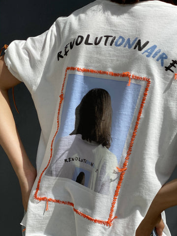 A Revolutionnaire's T-Shirt (Bright Coral)