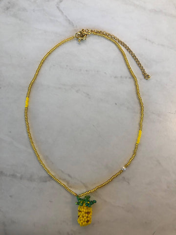 Single Pineapple Necklace
