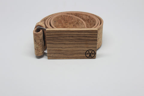Wood and Cork Belt