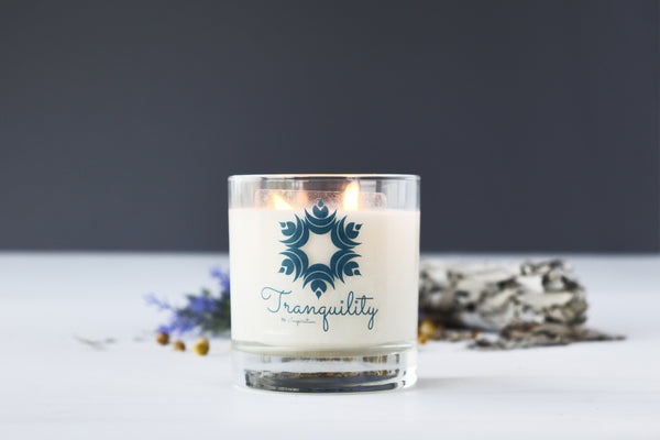 Tranquility - Scented Soy Candle Aromatherapy