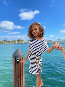 Sea Star Nautical Dress kids