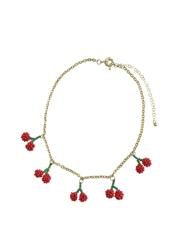 Chain Cherry Necklace