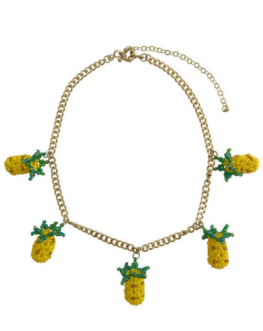 Chain Pineapple Necklace