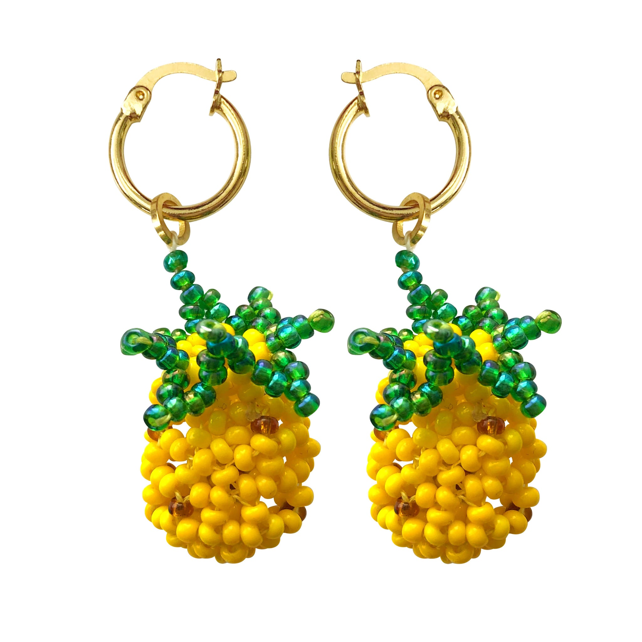 Pineapple Mini Hoops