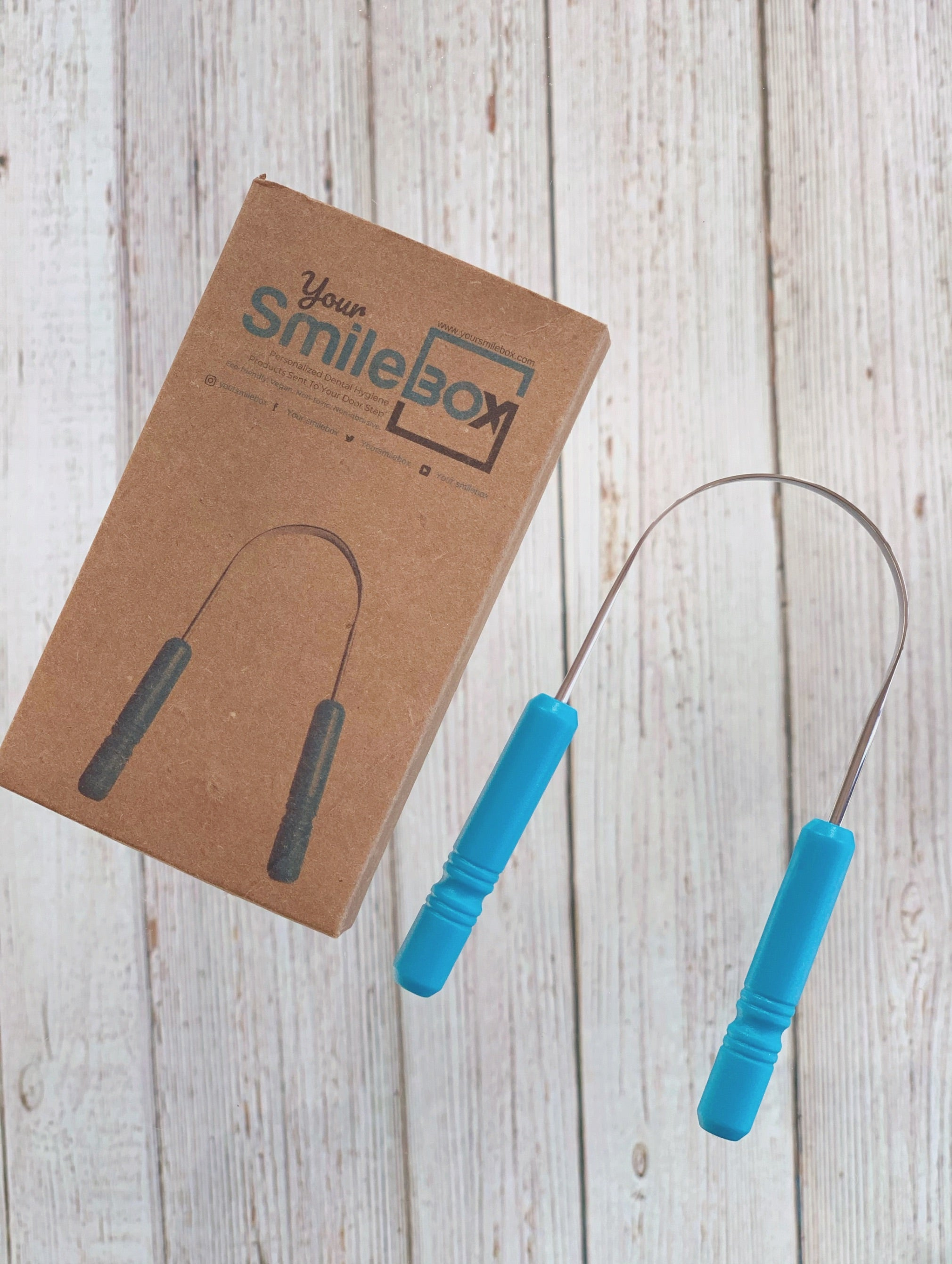 YourSmileBox Stainless Steel Tongue Cleaner