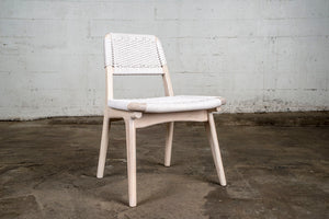 Rian Low Back Chair, White