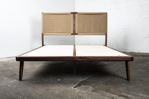 Rian Bed, Walnut