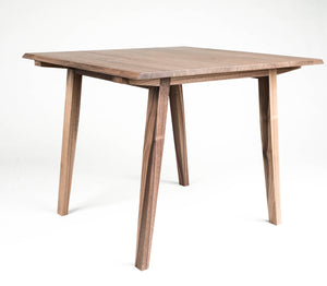 Table, Card Table, Breakfast Table, Walnut, Modern, Hardwood, Semigood Design