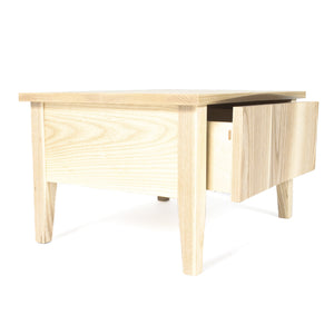 Rift Low Bedside Table