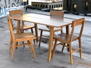 Table, Dining Table, Hardwood, Rift, Semigood Design, Modern
