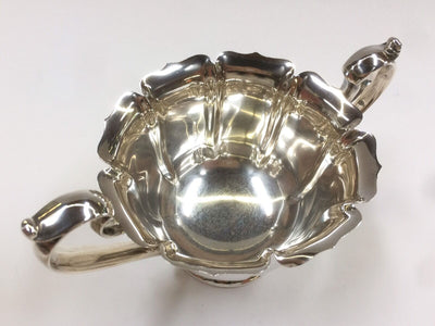 Vintage Tea Set Sterling 925 Webster Co. Silver Pot Sugar Creamer Tray 41.47 OZT