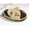 Hand Woven Wounann Mask Seed Basket Art #1