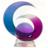 Multi-Color Celestial Lucite Sculpture Signed
