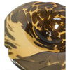 Leopard Murano Art Glass Bowl