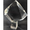 1970's MCM Clear Lucite Sculpture Signed Hivo Van Teal