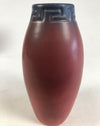 Rare 1906 Rookwood Vase Greek Key Red Blue Glaze American Art Pottery
