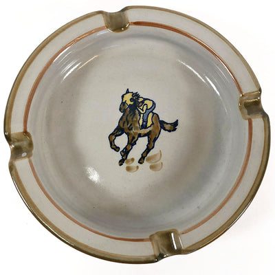 Kentucky Derby Louisville Stoneware Ashtray