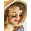 1950s Wales Hooded Lady Head Ceramic Vase