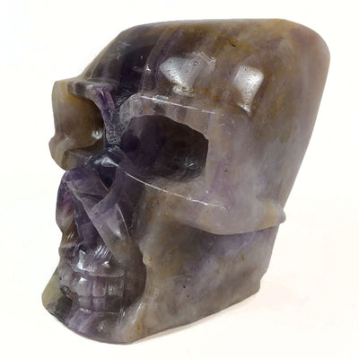 Fluorite Skull Carved in China