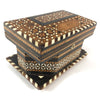Moroccan Inlaid Wood Jewelry Box