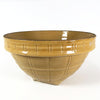 Vintage McCoy Yellow Stoneware Bowl No.10