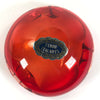 "Murano Red Glass 4"" Ashtray"