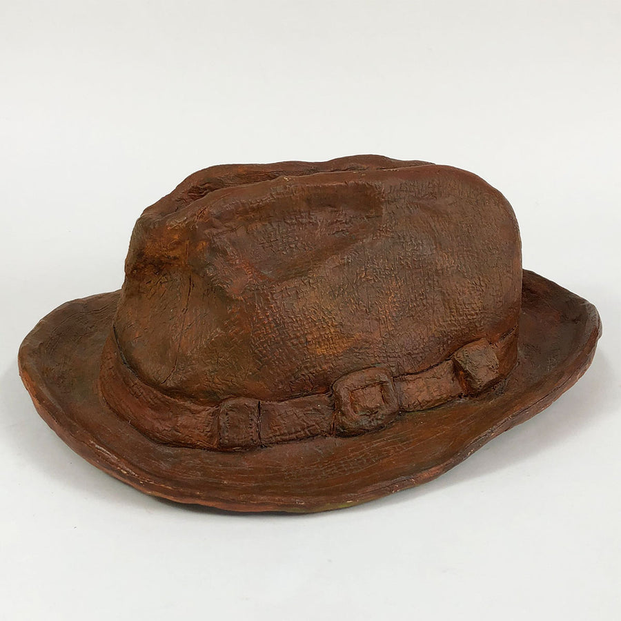 Ceramic Cowboy Hat Signed